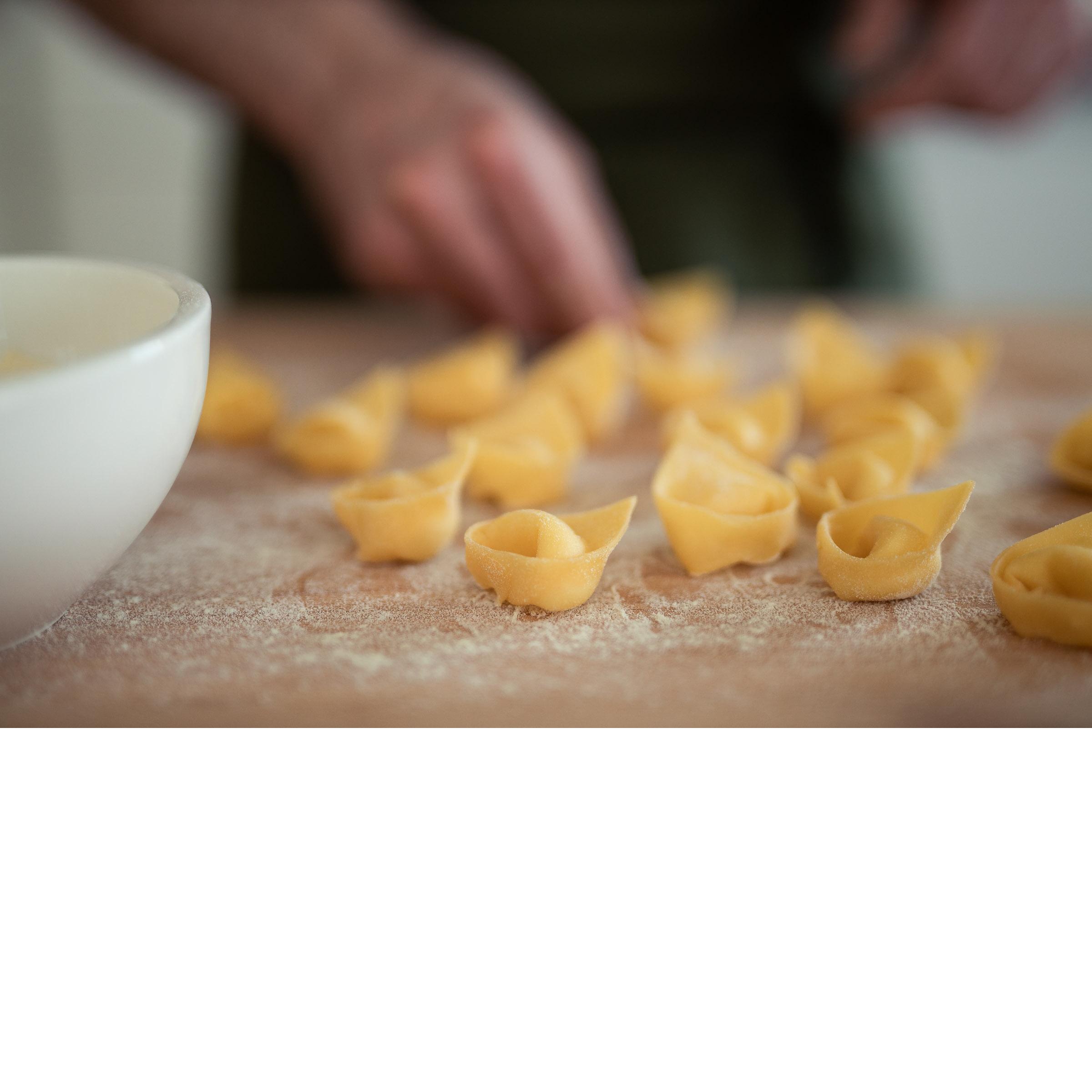 Tortelloni / Käsefonduta
