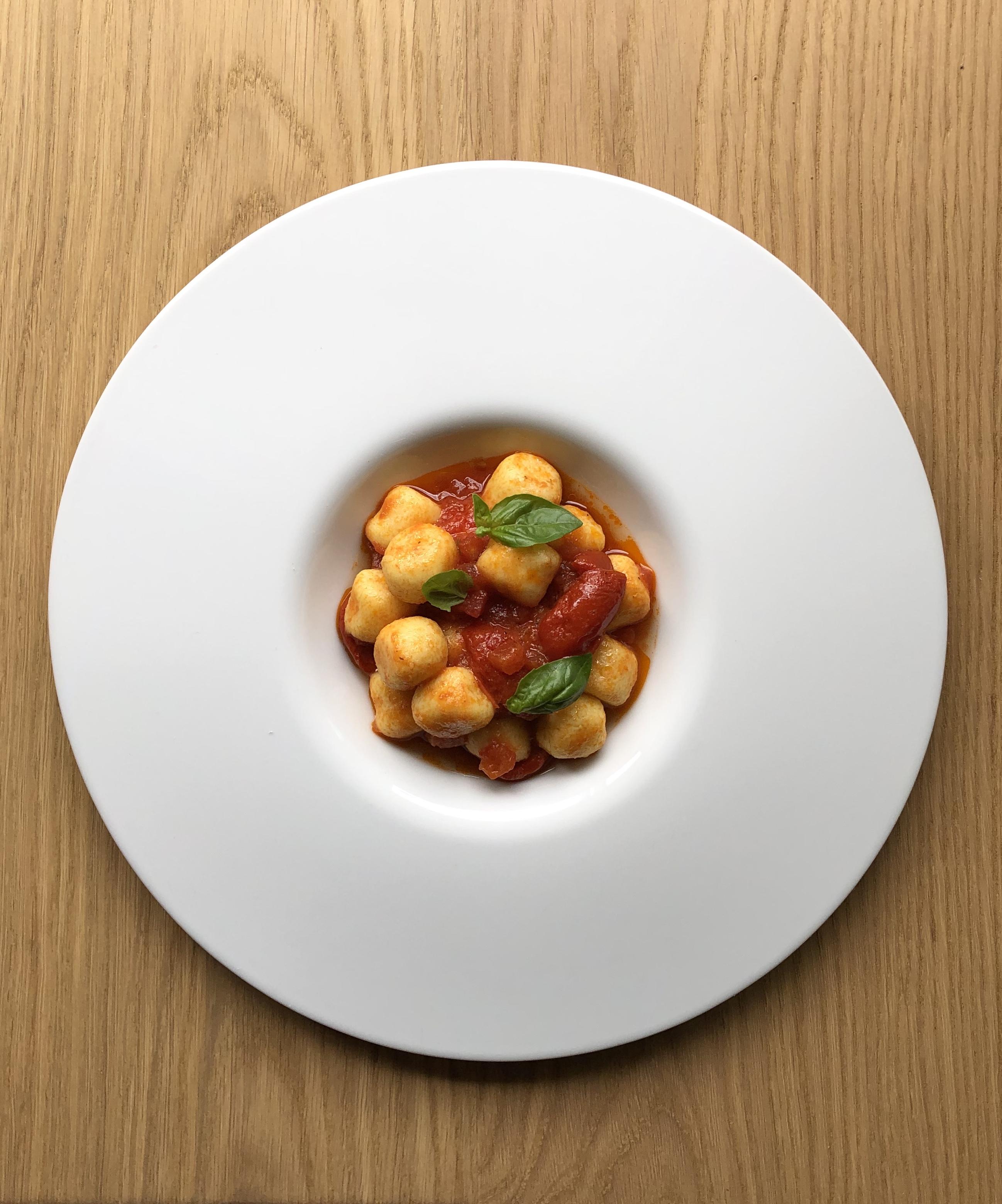 Kartoffelgnocchi / Dreierlei Tomatensauce
